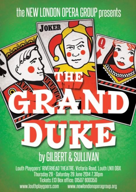 The Grand Duke - the poster!